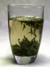 Infusion in a glass